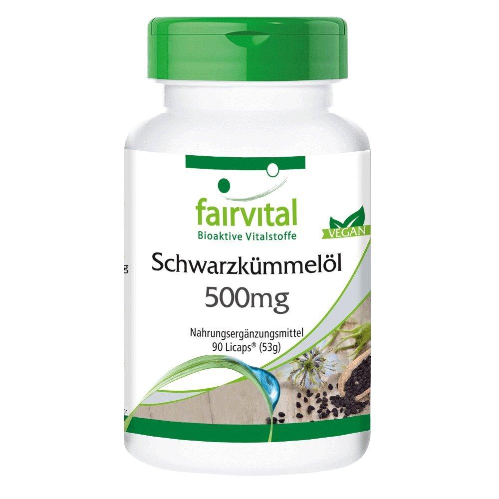 Cohosh negro 500mg - VEGANO - Altamente dosificado - 90 Licápsulas rico en ácidos grasos esenciales - Cimífuga - ¡Calidad Alemana garantizada!