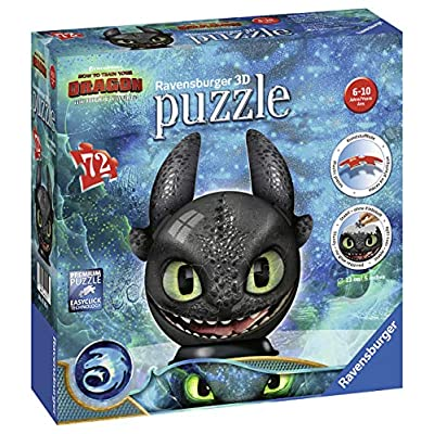 Ravensburger 11145 Dragons 3 Puzzle Ball 3d