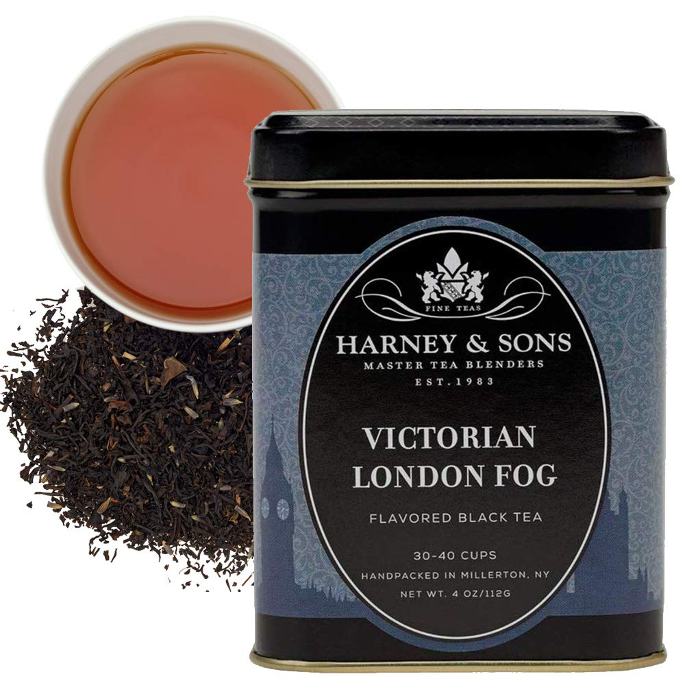 Harney & Sons Victorian London Fog Loose Tea, 4 Ounce