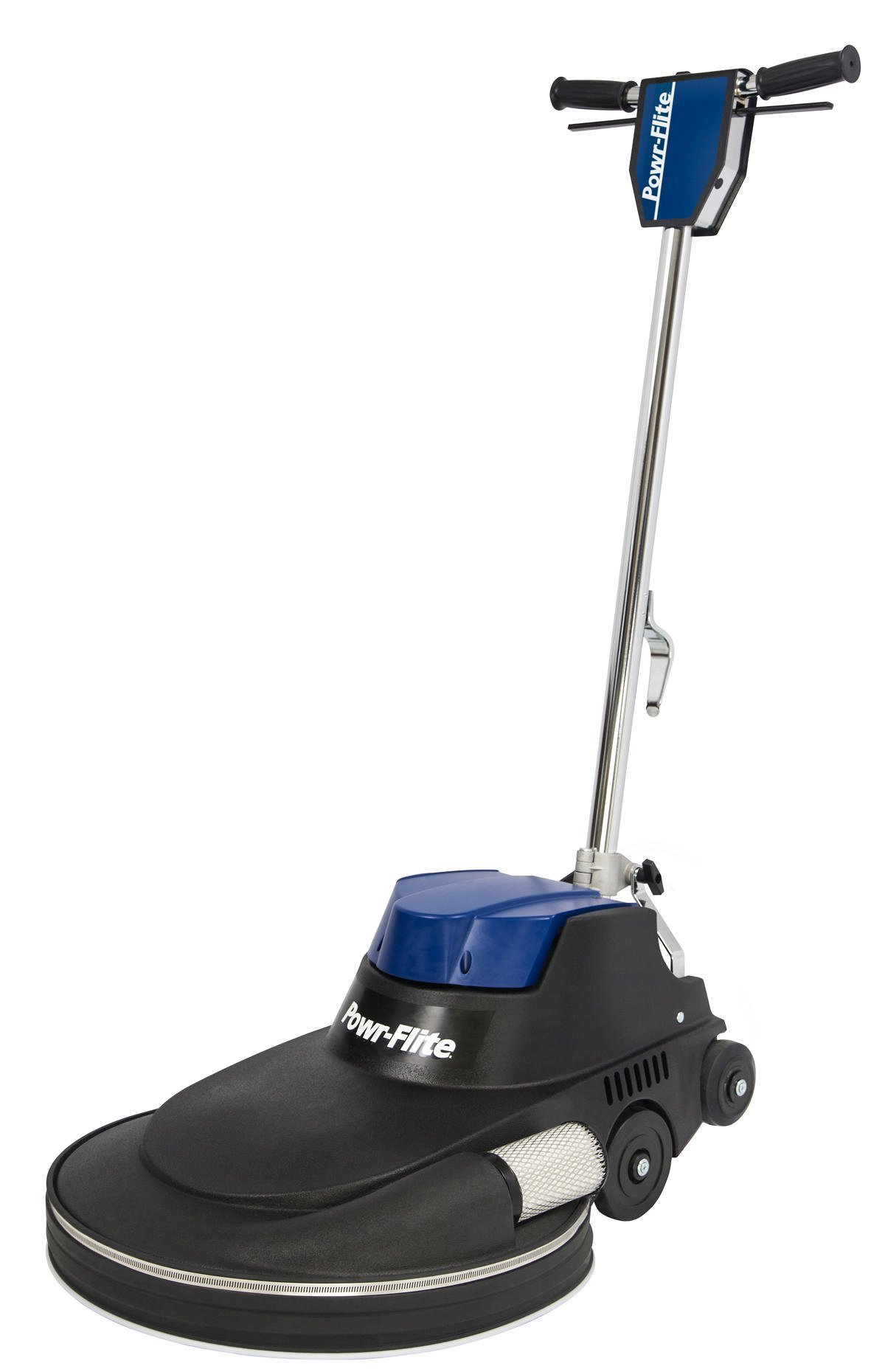 Powr-Flite NM2000DC Millennium Edition Electric Burnisher with Dust Control Filtration, 2000 rpm, 20'', 49'' Height, 19'' Length