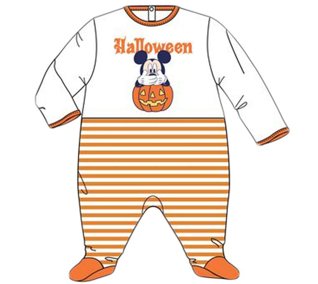 Disney Baby Micky Maus Schlafazug Halloween Dunkelblau 6 Monate