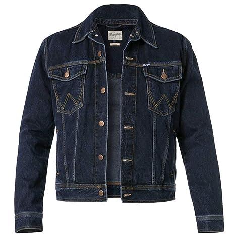 Wrangler Auth Western Jacket Blue Black Chaqueta para Hombre