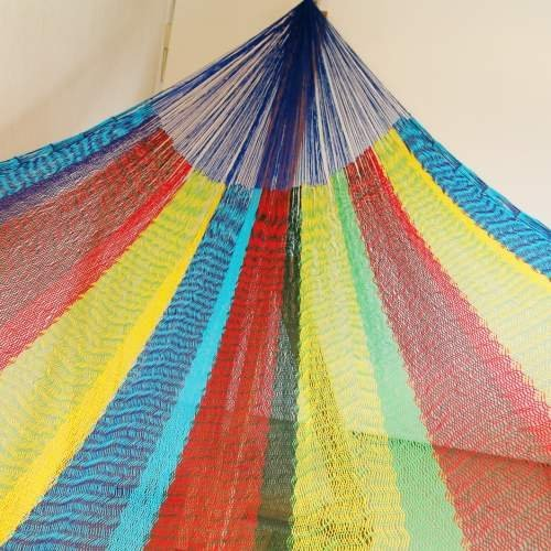 手編みのメキシカンハンモック 一押しおすすめファミリーサイズ B003XEKCVW