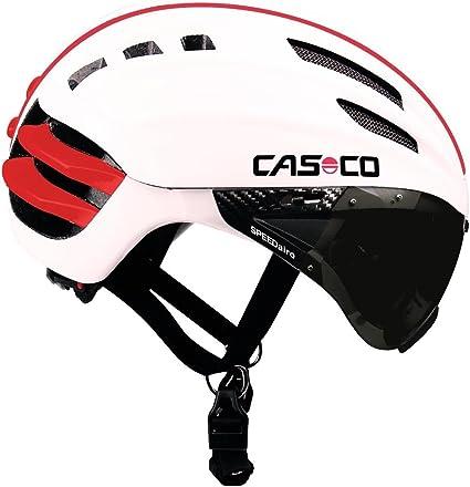 CASCO SPEEDairo Speed Airo Radhelm zeitfahrhelm avec visière NEUF