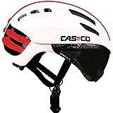 Casque casco speedairo blanc rouge