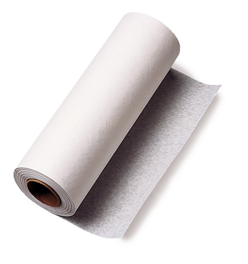 TIDI Products 980898  Choice Chiropractic Headrest Barrier, Crepe Roll, 8-1/2'' x 125' Size, White (Pack of 25)