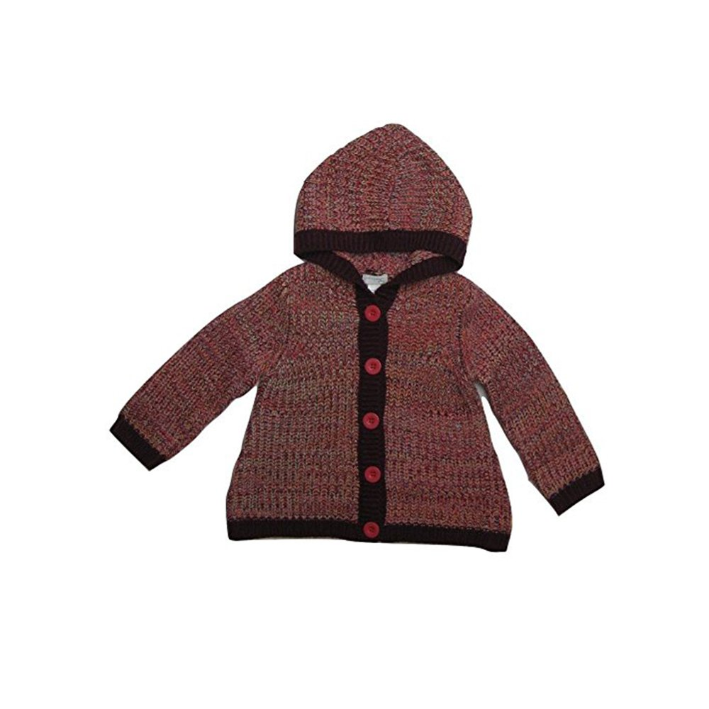 First Impressions Baby Girls Marled Sweater Perfect Plum