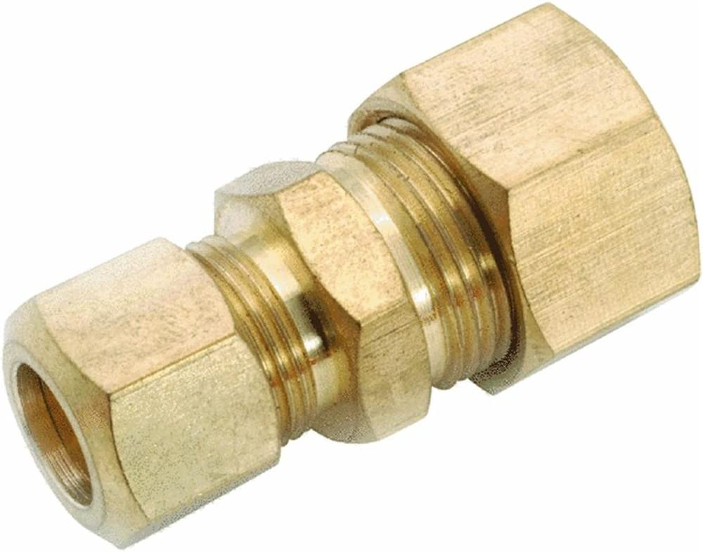 Amc 750082-1006 5//8 X 3//8 Brass Lead Free Reducing Union