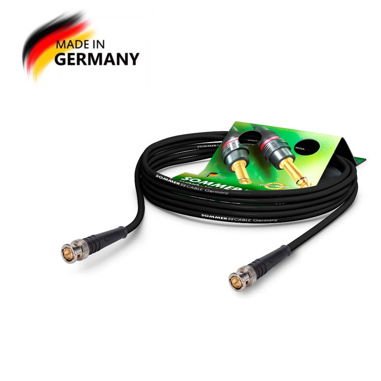 SommerCable - Cable de Video Coaxial BNC 75 Ω: Amazon.es: Electrónica