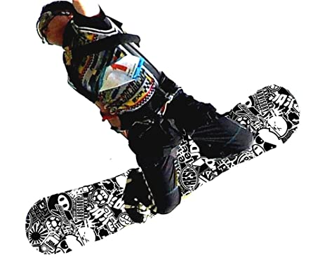 1f1f26d86948 Snowboard vinyl wrap sticker bombing sheets decals model black and white  jpg 466x390 Snowboard decals