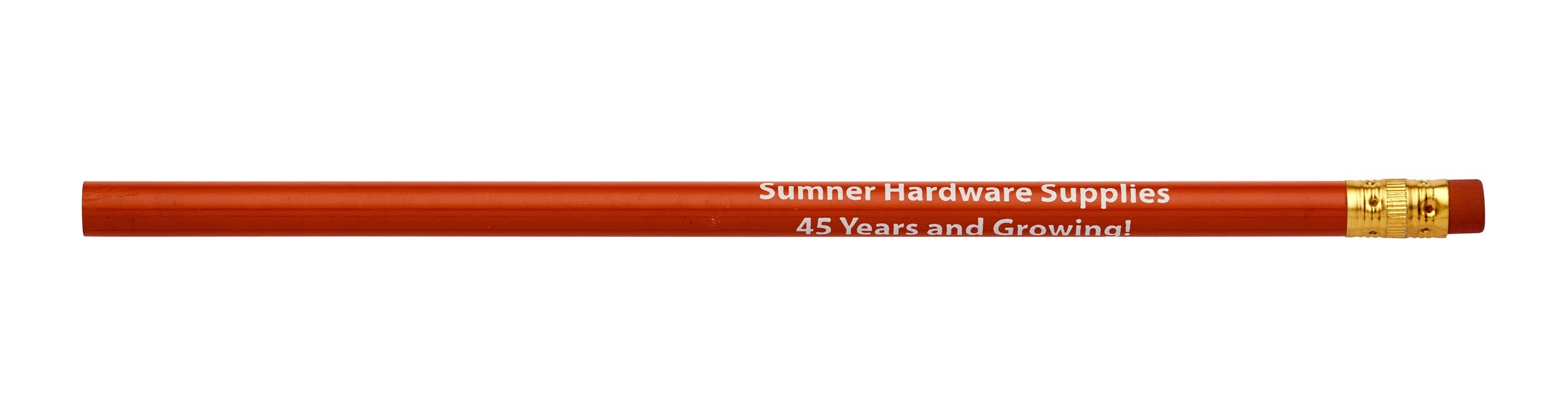 Pencil Guy Promotional Personalized Imprinted Round Pencils Red 144 to a box - Black Lead by Pencil Guy