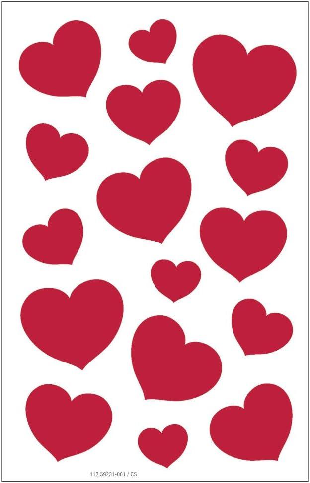 1 Bogen selbstklebend Susy Card 11259231 Sticker Liebe 1.FSC