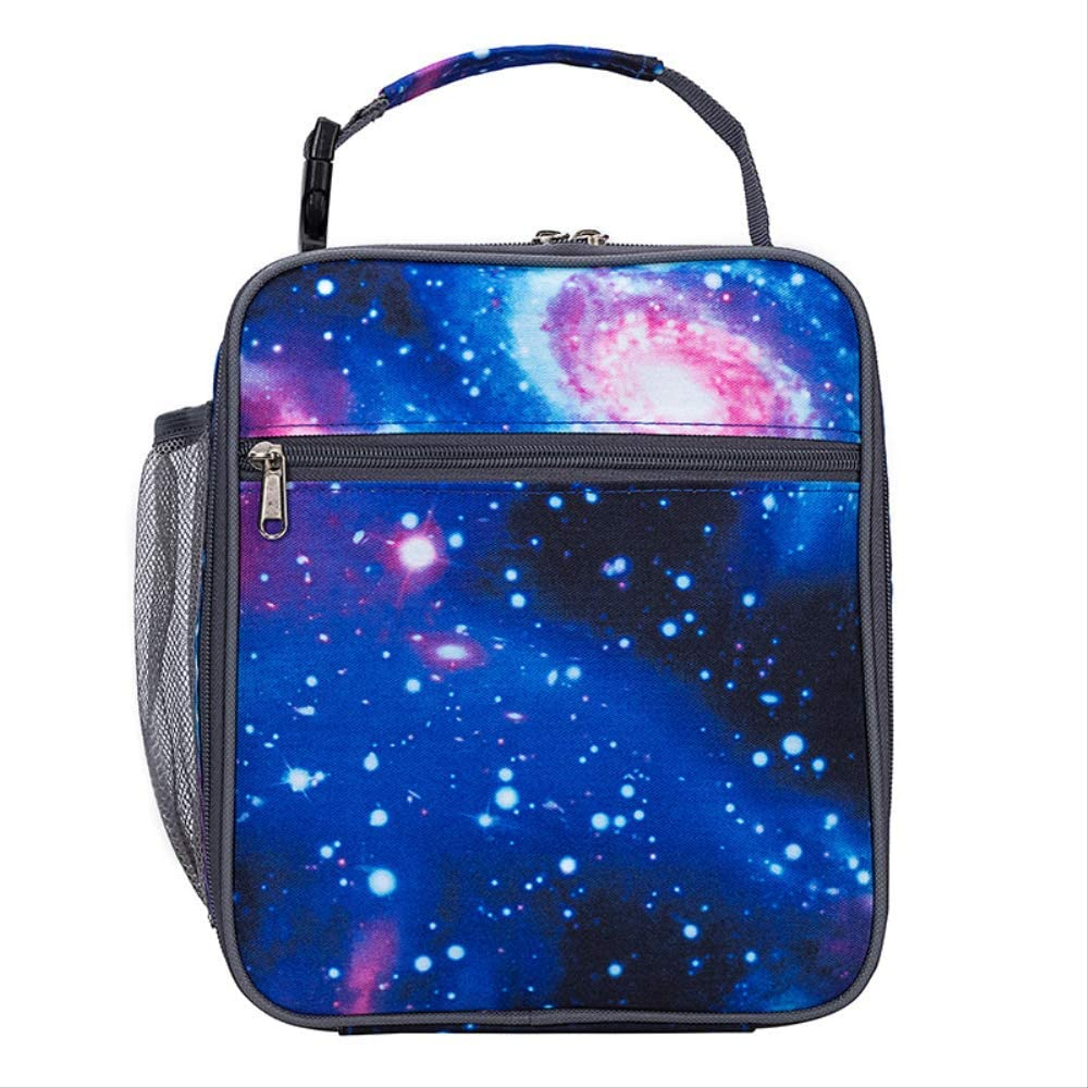 New Star Oxford Cloth Customizable Insulation Bag European And American Students Hand-Held Buckle Insulation As A Bag 19 x 10 x 26 cm bolsa nevera