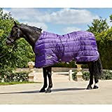 Weatherbeeta Comfitec 210D Channel Quilt Standard Neck Medium Purple/Black 78''