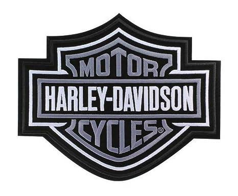 Harley Davidson Bar And Shield >> Harley Davidson Silver Bar Shield Patch 2xl 9 1 4 X 7 11 16 Emb302546
