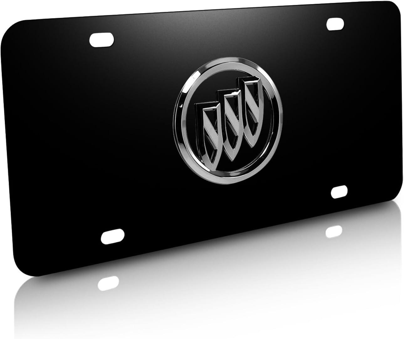 Buick Black Acrylic License Plate