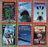 Set of 6 Scholastic Readers Levels 3-4 (Racing Stripes ~ Chomp! A Book ABout Sharks ~ Batman: The Copycat Crime ~ A Dinosaur Named Sue~ Finding the Titanic~ Knight's Kingdom: The Grand Tournament)