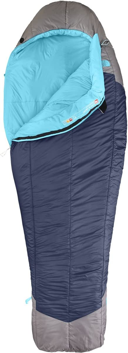 Women 's The North Face Cat 's Meow Sleepingバッグ 青 Coral/Zinc グレー Left Hand Long