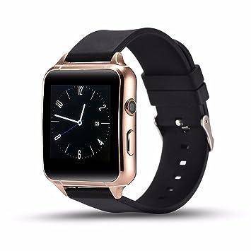 Ritmo cardíaco bluetooth reloj inteligente, para mujer, podómetro ...