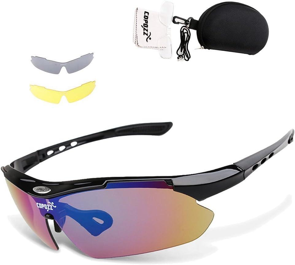 POLARIZED Wrap Sunglasses Anti Glare Driving Fishing Cycling Running Glasses