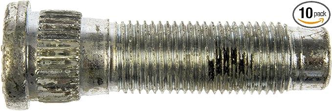 Dorman 610-345.1 1//2-20 Thread and 1-7//8 Long Serrated Wheel Stud