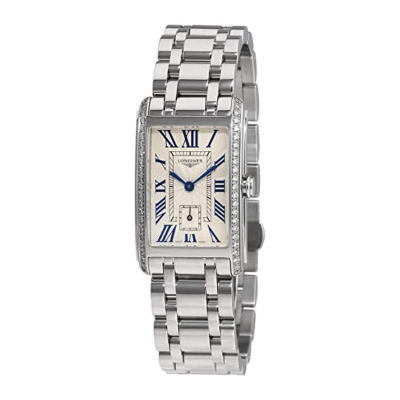 size 40 6fca0 e47d0 Longines Dolce Vita Stainless Steel & Diamond Womens Watch ...