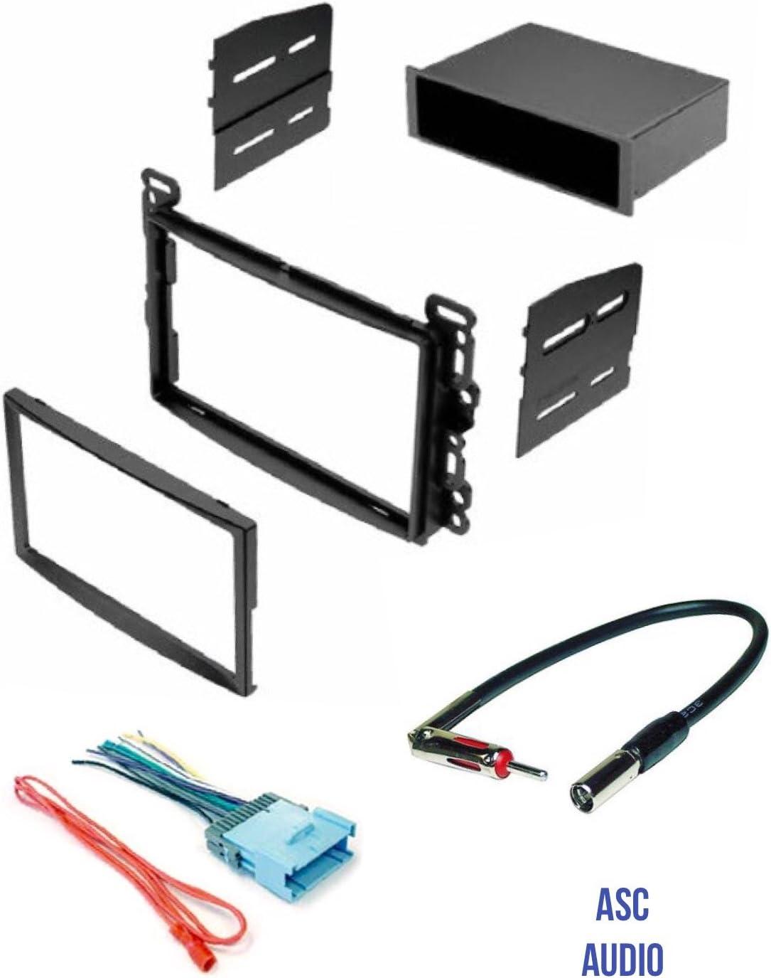 T1 Audio Universal Double Din to Single DIN Car Stereo Pocket Tray Facia Adaptor