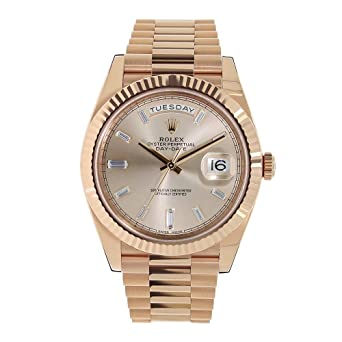 new arrival 19a91 6c8f2 Amazon | ロレックス デイデイトII 自動巻き レディース腕時計 ...
