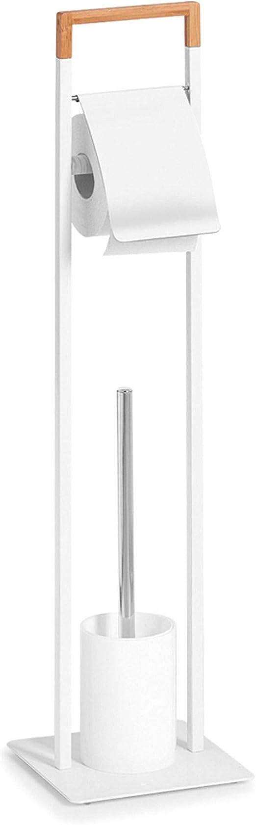 Zeller Wc Brosse Brosse WC batteur avec support moulés Schiste optique