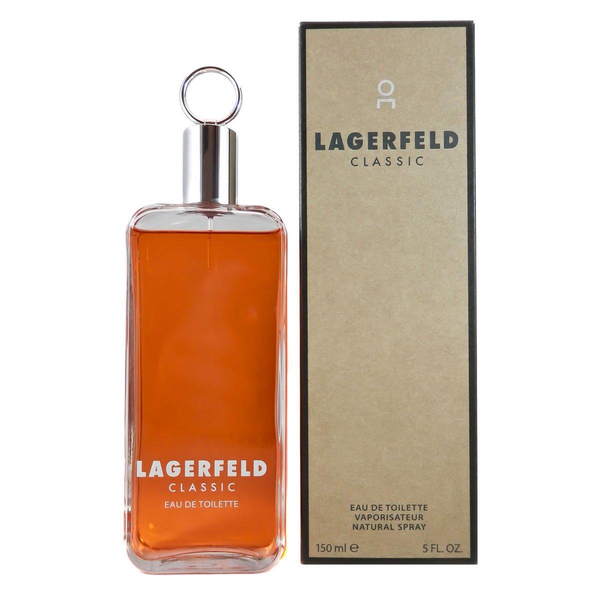 Amazon.com : Karl Lagerfeld Classic for Men Eau de Toilette Spray, 5 Ounce : Beauty