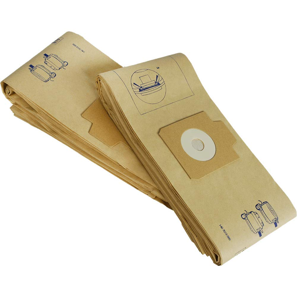 Nilfisk Advance Paper Bags (qty: 10) (1407015040) by Nilfisk