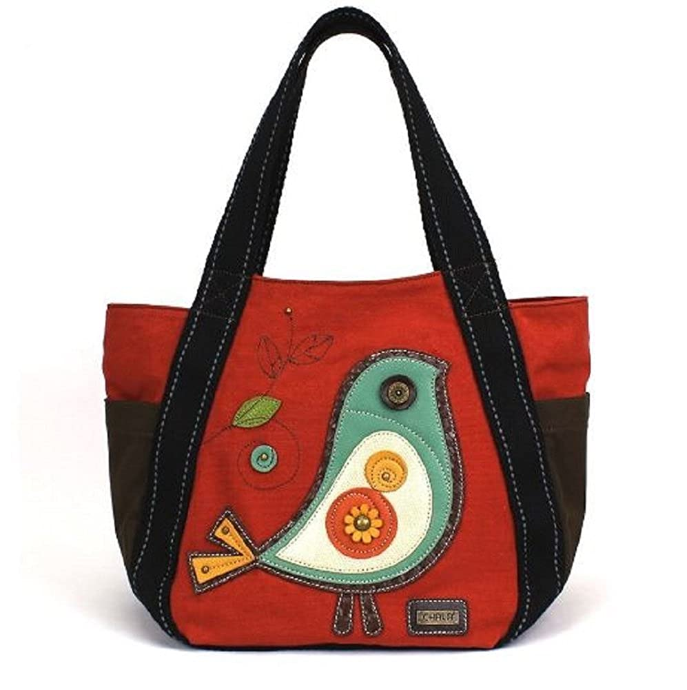 Chala Carryall Zip Tote Handbag