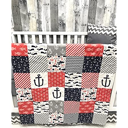 61PICCwXr3L._SS450_ Nautical Crib Bedding and Beach Crib Bedding