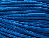 550 Paracord / Parachute Cord, 100 Metters(328 feet), 800 lb Tensile Strength, Type III Paracord, 7 100% Nylon Core Strands Each Twisted from 3 Individual Strands, 5/32''(4mm) Diameter Electric Blue