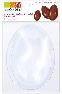 ScrapCooking 9470 - Blister Molde de Chocolate en Forma de Huevo (2 Cascos),