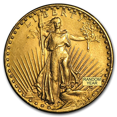 1907-1933 $20 Saint-Gaudens Gold Double Eagle (Cleaned) G$20 Very Good