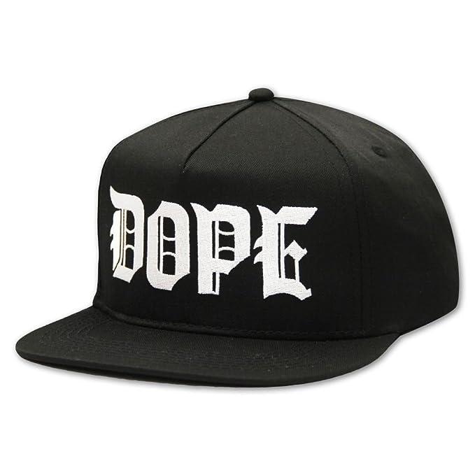 Dope Couture M.O.B Snapback Black: Amazon.es: Ropa y accesorios