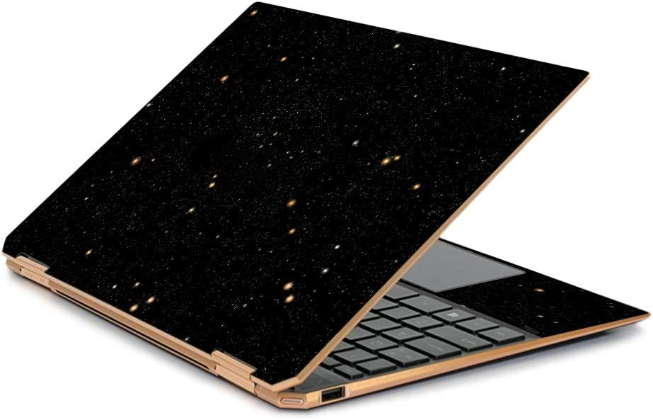 """MightySkins Skin Compatible With HP Spectre x360 13.3"""" Gem-Cut (2019) - Deep Space 