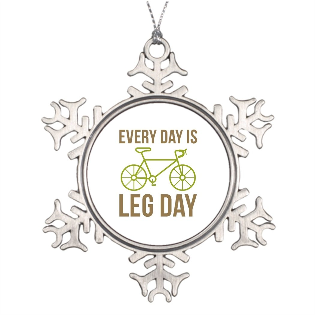 Moc Moc Xmas Trees Decorated Every Day Is Leg Day Snowflake Ornaments Designs Small Snowflake Ornaments