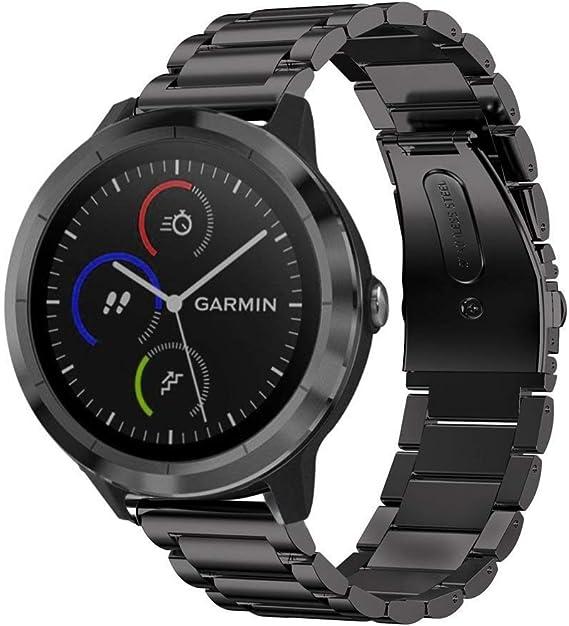 Keweni Bracelet pour Garmin Vivoactive 3,Accessoire de Bande de Sport de Remplacement en Silicone Garmin Vivoactive 3 Music//Vivoactive 3//vivomove Style//Forerunner 245//Forerunner 645
