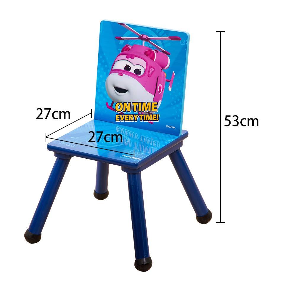 Kinder Sitzgruppe Holz Kindertisch mit St/ühle Kinder Schreibtisch /& Kinderstuhl Kinderzimmer M/öbel f/ür M/ädchen und Jungen Super Wings C3DZY001 Stylehome 2tlg