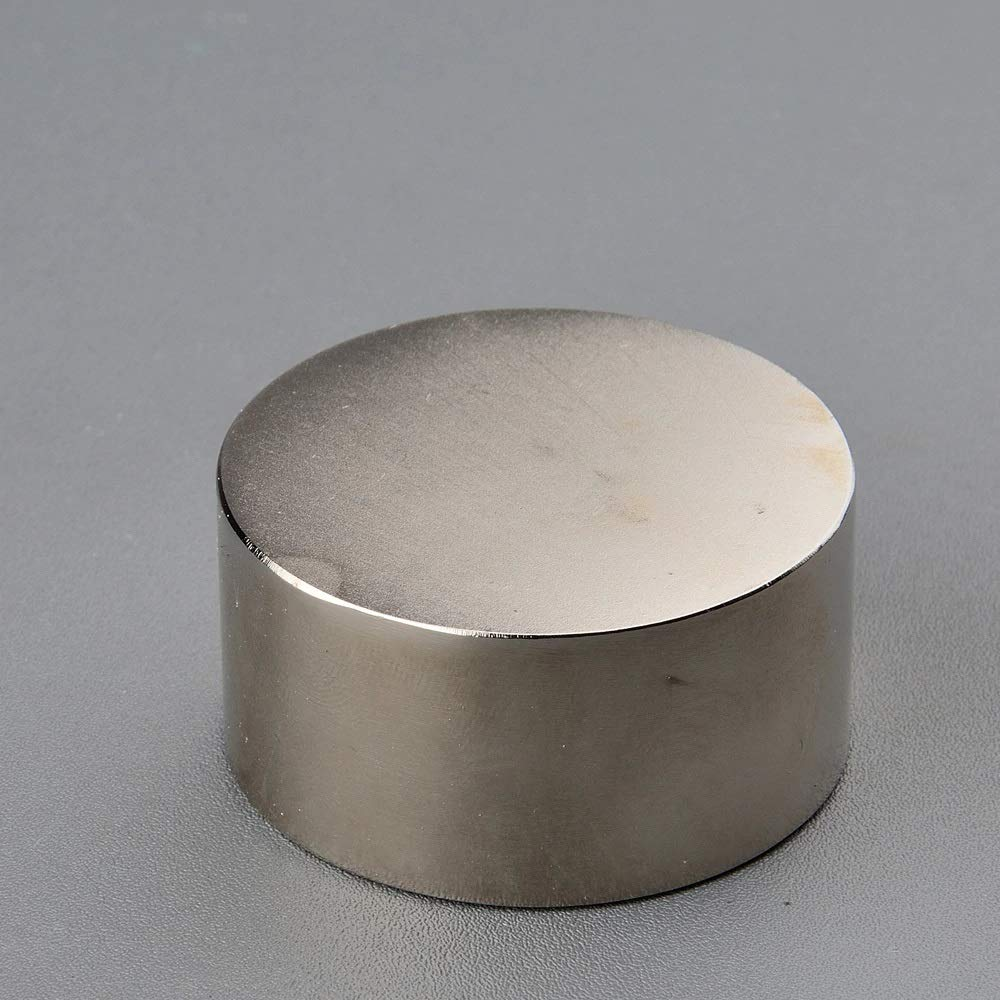 D50 25mm Height - 1PC Super Powerful Neodymium Round Magnet Strong Pull-Force Disc Magnet Rare Earth Lab Science Testing