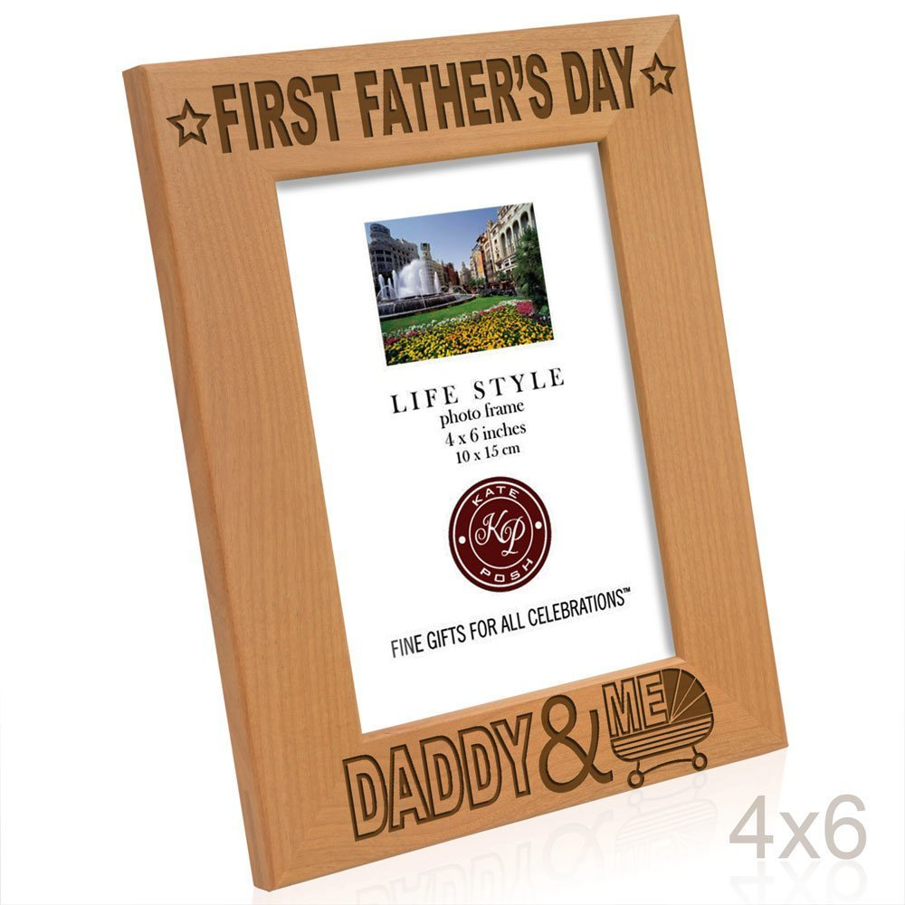 Amazon.com - Kate Posh - First Father\'s Day with Daddy & Me Picture ...