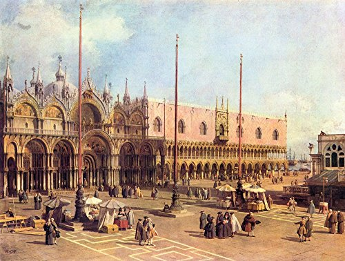 The Museum Outlet - La Piazza San Marco by Canaletto - Poster Print Online Buy (60 X 80 - Outlet Stores San Marcos