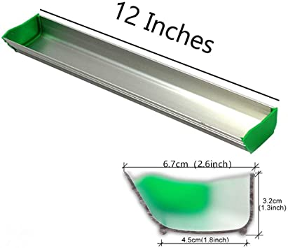 "6/""//8/""//10/""//12/""//14/""//16/""Dual Edge Aluminum Emulsion Scoop Coater for Sceen Printing"