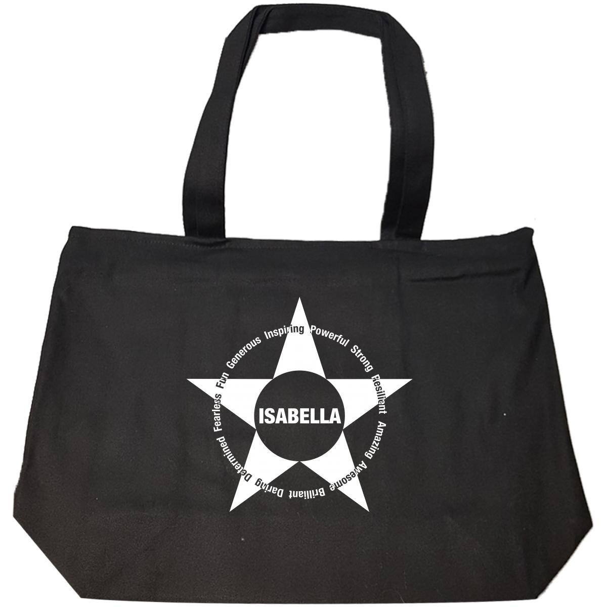 Amazing Inspirational Gift For Isabella Name Gold Foil - Tote Bag With Zip