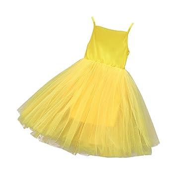 Ropa de bebé ❀ ❀ jyjm Flores Princesa Bebé Niña dama de honor Pageant vestido Fiesta ...