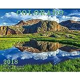 Colorado 2018 Deluxe Wall Calendar