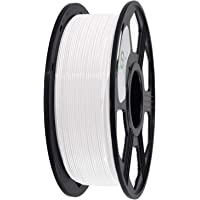 YOYI 3D Printer Filament, PLA Filament 1.75mm 2.2 lbs Spool (1kg), Dimensional Accuracy +/- 0.03 mm, 100% Europe Raw Material (White)