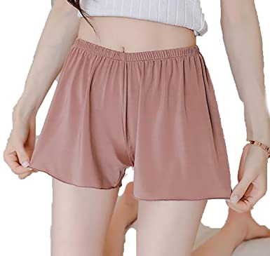 Women with loose fitting panties